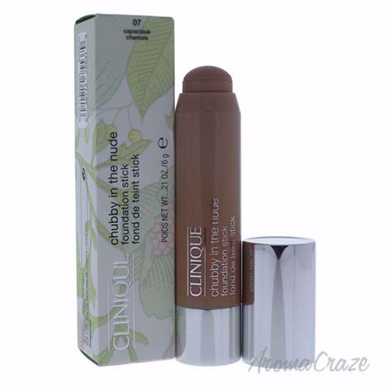 Chubby in the Nude Foundation Stick - # 07 Capacious Chamois by Clinique for Women - 0.21 oz Foundation - Face Makeup Products | Face Cosmetics | Face Makeup Kit | Face Foundation Makeup | Top Brand Face Makeup | Best Makeup Brands | Buy Makeup Products Online | AromaCraze.com