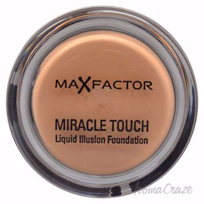 Miracle Touch Liquid Illusion Foundation - # 65 Rose Beige by Max Factor for Women - 11.5 g Foundation - Face Makeup Products | Face Cosmetics | Face Makeup Kit | Face Foundation Makeup | Top Brand Face Makeup | Best Makeup Brands | Buy Makeup Products Online | AromaCraze.com