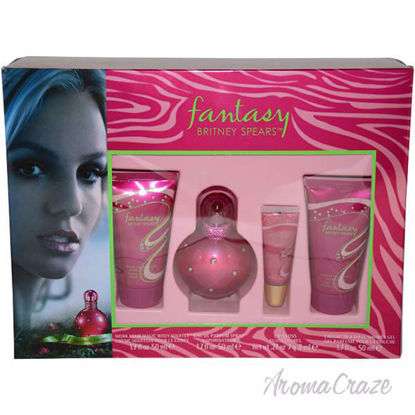 Fantasy by Britney Spears for Women - 4 Pc Gift Set 1.7oz ED