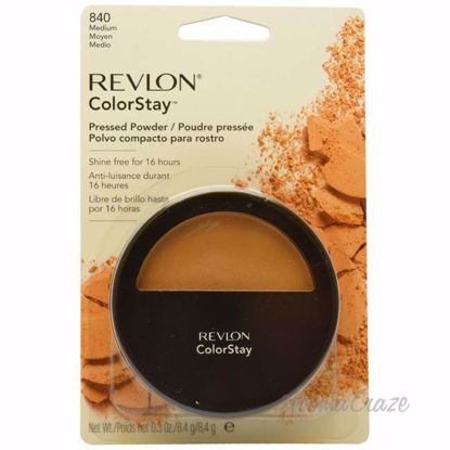 ColorStay Pressed Powder with Softflex # 840 Medium by Revlon for Unisex - 0.3 oz Powder - Face Makeup Products | Face Cosmetics | Face Makeup Kit | Face Foundation Makeup | Top Brand Face Makeup | Best Makeup Brands | Buy Makeup Products Online | AromaCraze.com