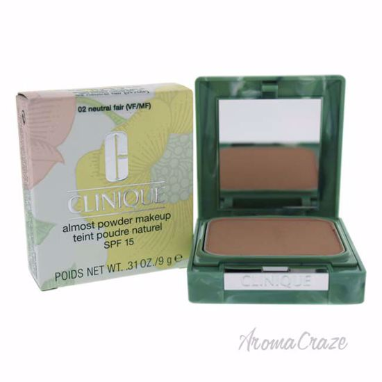 Almost Powder MakeUp SPF 15 - # 02 Neutral Fair by Clinique for Women - 0.31 oz Foundation - Face Makeup Products | Face Cosmetics | Face Makeup Kit | Face Foundation Makeup | Top Brand Face Makeup | Best Makeup Brands | Buy Makeup Products Online | AromaCraze.com