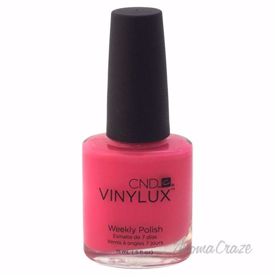 CND Vinylux Weekly Polish - # 121 Hot Pop Pink by CND for Women - 0.5 oz Nail Polish - Nails Polish and Nail Colors | Popular Nail Colors | Best Nail Polish Colors | Holiday Nail Colors | Nail Polish Colors For Sale | Nail polish Online | AromaCraze.com