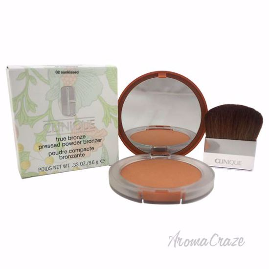 True Bronze Pressed Powder Bronzer - # 02 Sunkissed by Clinique for Women - 0.33 oz Powder - Face Makeup Products | Face Cosmetics | Face Makeup Kit | Face Foundation Makeup | Top Brand Face Makeup | Best Makeup Brands | Buy Makeup Products Online | AromaCraze.com