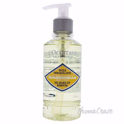 Immortelle Oil Make Up Remover by LOccitane for Women - 6.7 oz Make Up Remover - Makeup Remover Products | Makeup Remover Wipes | Best makeup remover for sensitive skin | Face Makeup Remover | Eye Makeup Remover | Makeup Products on Sale | AromaCraze.com