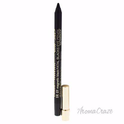 Fatal Blacks Waterproof Eye Pencil - 01 Magnetic Black by He