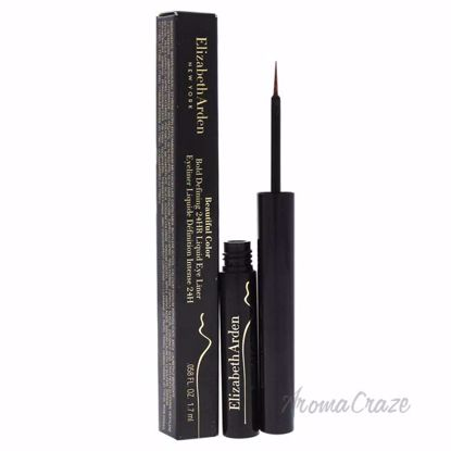 Beautiful Color Bold Defining 24HR Liquid Eye Liner - 02 Gilded Brown by Elizabeth Arden for Women - 0.058 oz Eyeliner - Eye Makeup | Eye Makeup Kit | Eye Shadow | Eye liner | Eye Mascara | Eye Cosmetics Products | Eye Makeup For Big Eyes | Buy Eye Makeup Online | AromaCraze.com