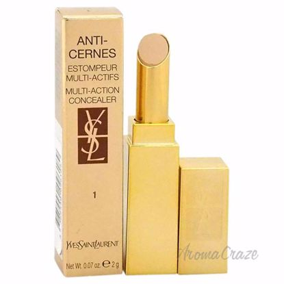 Anti-Cernes Multi-Action Concealer - # 1 Ivory Beige by Yves Saint Laurent for Women - 0.07 oz Concealer - Face Makeup Products | Face Cosmetics | Face Makeup Kit | Face Foundation Makeup | Top Brand Face Makeup | Best Makeup Brands | Buy Makeup Products Online | AromaCraze.com
