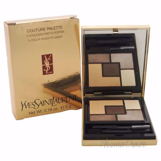 Couture Palette - # 4 Saharienne by Yves Saint Laurent for Women - 0.18 oz Eyeshadow - Eye Makeup | Eye Makeup Kit | Eye Shadow | Eye liner | Eye Mascara | Eye Cosmetics Products | Eye Makeup For Big Eyes | Buy Eye Makeup Online | AromaCraze.com
