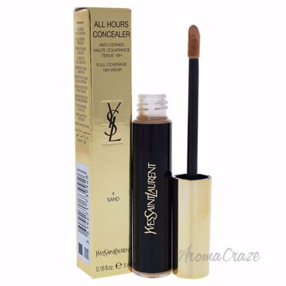 All Hours Concealer - 4 Sand by Yves Saint Laurent for Women - 0.16 oz Concealer - Face Makeup Products | Face Cosmetics | Face Makeup Kit | Face Foundation Makeup | Top Brand Face Makeup | Best Makeup Brands | Buy Makeup Products Online | AromaCraze.com