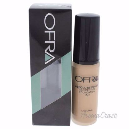 Absolute Cover Silk Peptide Foundation - # 3 by Ofra for Women - 1 oz Foundation - Face Makeup Products | Face Cosmetics | Face Makeup Kit | Face Foundation Makeup | Top Brand Face Makeup | Best Makeup Brands | Buy Makeup Products Online | AromaCraze.com