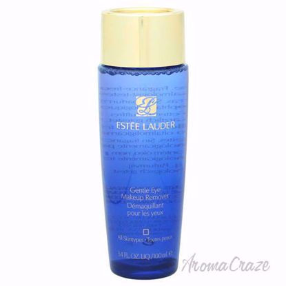 Gentle Eye Makeup Remover - All Skin Types by Estee Lauder for Unisex - 3.4 oz Makeup Remover - Makeup Remover Products | Makeup Remover Wipes | Best makeup remover for sensitive skin | Face Makeup Remover | Eye Makeup Remover | Makeup Products on Sale | AromaCraze.com