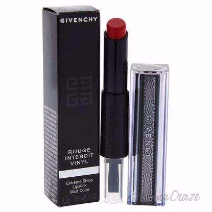 Rouge Interdit Vinyl Lipstick - # 11 Rouge Rebelle by Givenc