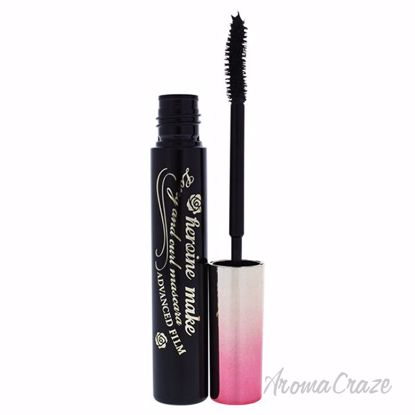 Long and Curl Mascara Advance Film - 01 Super Black by Heroi