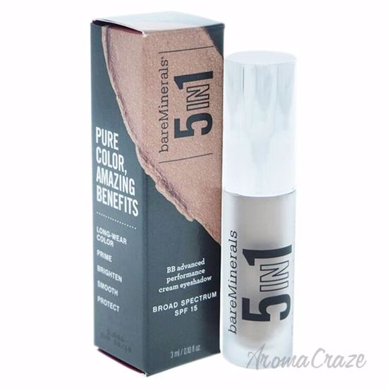 Picture of 5-in-1 BB Advanced Performance Cream Eyeshadow SPF 15 - Elegant Taupe by bareMinerals for Women - 0.