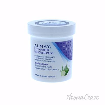 Oil-Free Eye Makeup Remover Pads by Almay for Unisex - 80 Pc