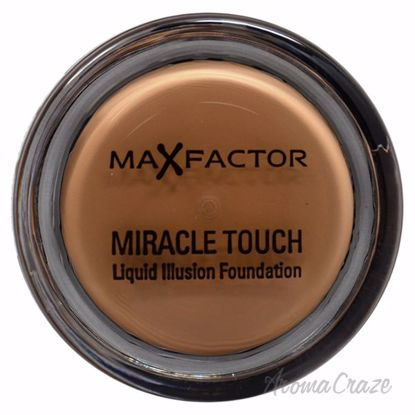 Miracle Touch Liquid Illusion Foundation - 80 Bronze by Max