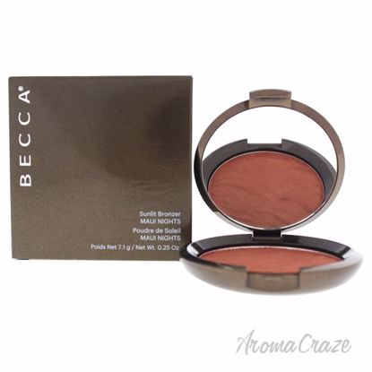 Sunlit Bronzer - Maui Nights by Becca for Women - 0.25 oz Br