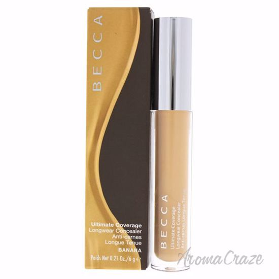Picture of Ultimate Coverage Longwear Concealer - Banana by Becca for Women - 0.21 oz Concealer