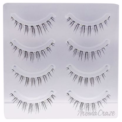 False Eyelashes - 9 Nudy Brown by Miche Bloomin for Women -