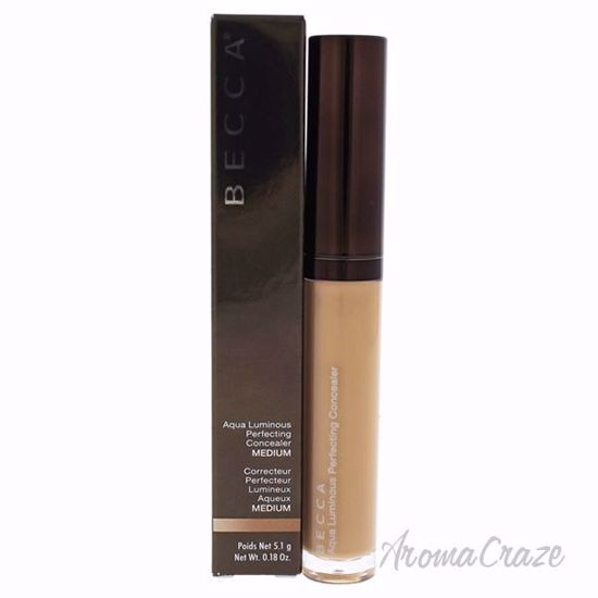 Aqua Luminous Perfecting Concealer Medium by Becca for Women 0.18 oz Concealer