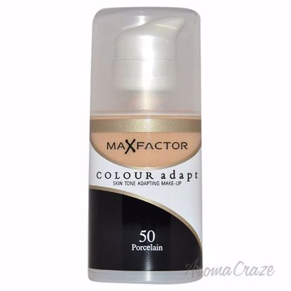 Picture of Colour Adapt Skin Tone Adapting Makeup - # 50 Porcelain by Max Factor for Women - 34 ml Make Up
