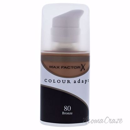 Picture of Colour Adapt Skin Tone Adapting Makeup - # 80 Bronze by Max Factor for Women - 34 ml Make Up