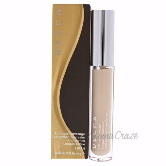 Picture of Ultimate Coverage Longwear Concealer - Linen by Becca for Women - 0.21 oz Concealer