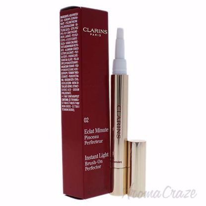 Picture of Instant Light Brush-On Perfector - # 02 by Clarins for Women - 1 Pc Brush