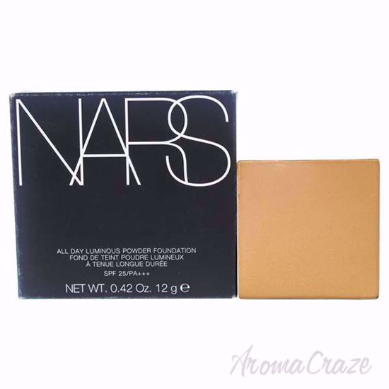 NARS All Day Luminous Powder Foundation SPF 25 - 02 Santa for Women - 0.42 oz Foundation (Refill)