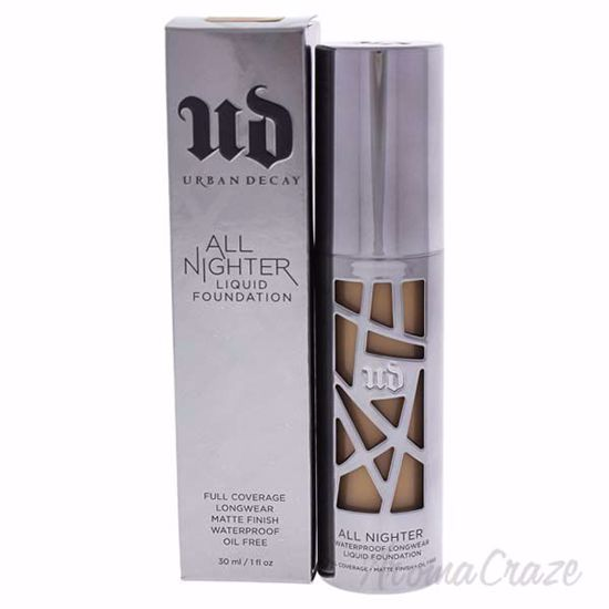 Picture of All Nighter Liquid Foundation - 7.0 Medium Dark by Urban Decay for Women - 1 oz Foundation