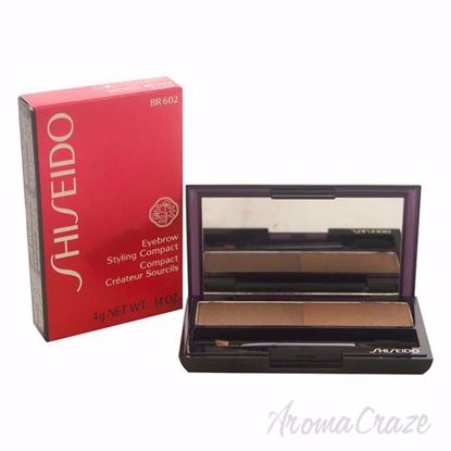 Picture of Eyebrow Styling Compact - # BR602 Medium Brown by Shiseido for Women - 0.14 oz Compact