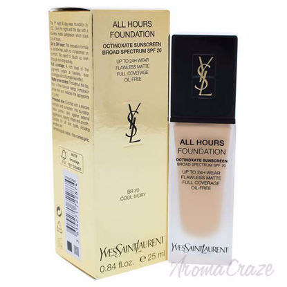 Yves Saint Laurent All Hours Foundation SPF 20 - BR20 Cool Ivory for Women - 0.84 oz