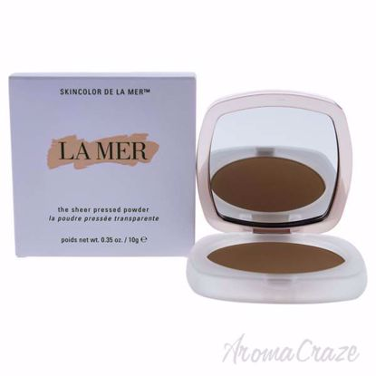 The Sheer Pressed Powder - 42 Medium Deep by La Mer for Wome