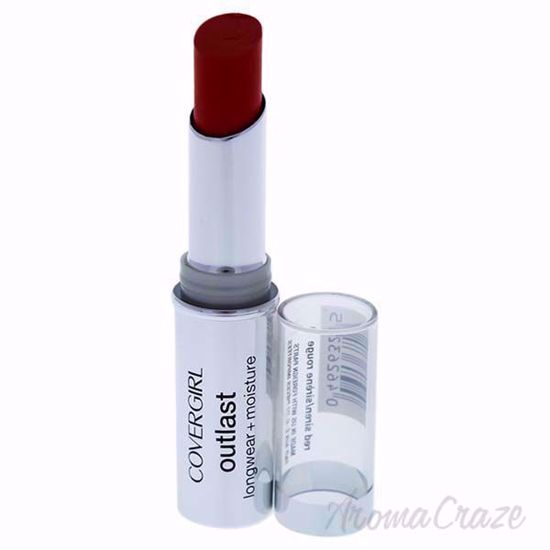 Picture of CoverGirl Outlast Longwear Moisturizing # 915 Red Siren Lipstick for Women 0.12 oz