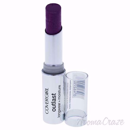 Picture of CoverGirl Outlast Longwear Moisturizing # 940 Vixen Violet Lipstick for Women 0.12 oz