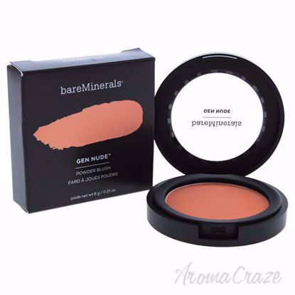 Picture of Gen Nude Powder Blush - That Peach Tho by bareMinerals for Women - 0.21 oz Powder