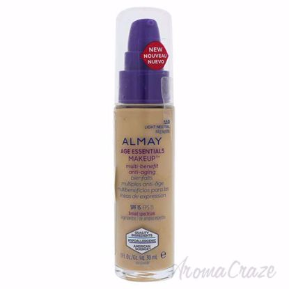 Picture of Age Essentials Multi-Benefit Anti-Aging Makeup - 110 Light Neutral by Almay for Women - 1 oz Foundation