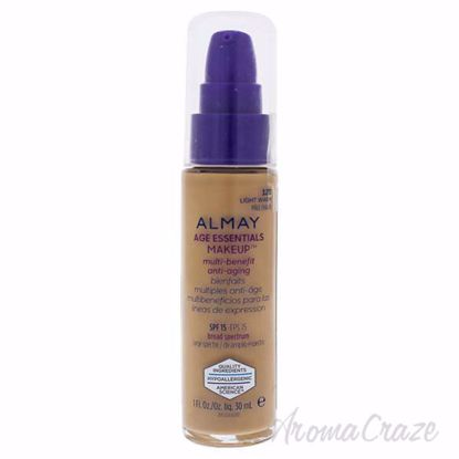 Picture of Age Essentials Multi-Benefit Anti-Aging Makeup - 120 Light Warm by Almay for Women - 1 oz Foundation