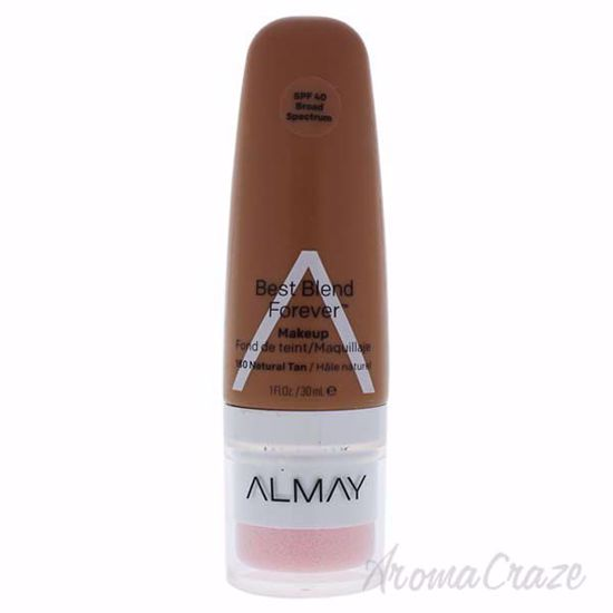 Picture of Best Blend Forever Makeup SPF 40 - 180 Natural Tan by Almay for Women - 1 oz Foundation