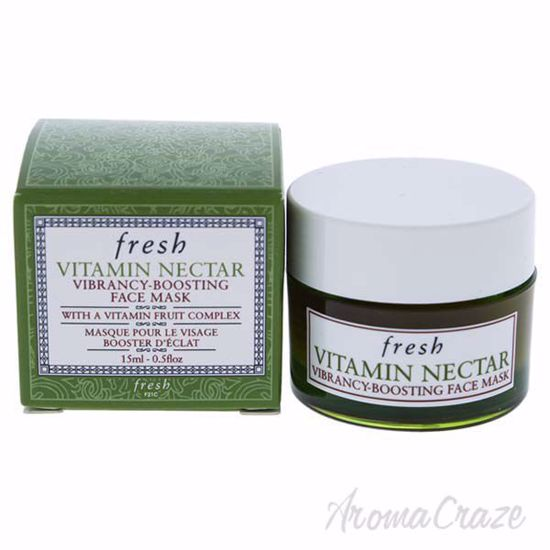 Picture of Vitamin Nectar Vibrancy-Boosting Face Mask by Fresh for Unisex - 0.5 oz Mask