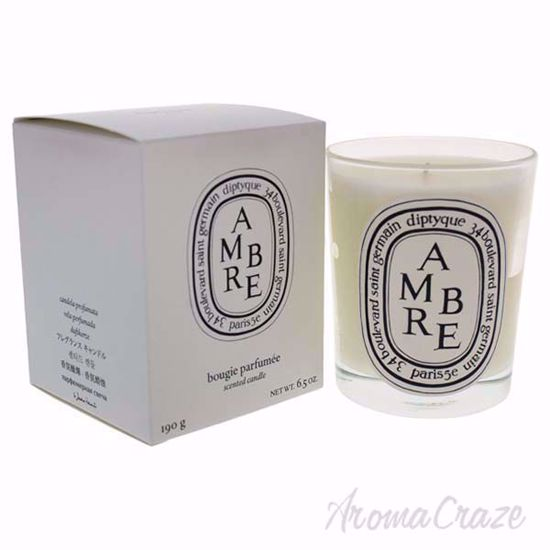 Picture of Ambre Scented Candle by Diptyque for Unisex - 6.5 oz Candle