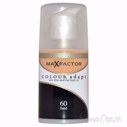 Picture of Colour Adapt Skin Tone Adapting Makeup - # 60 Sand by Max Factor for Women - 34 ml Make Up