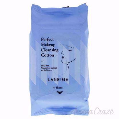Perfect Makeup Cleansing Cotton by Laneige for Unisex - 35 P