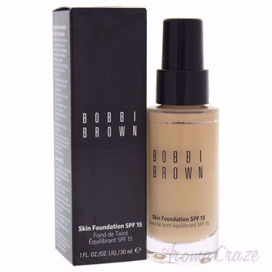 Picture of Skin Foundation SPF 15 - # 2.5 Warm Sand by Bobbi Brown for Women - 1 oz Foundation