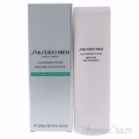Picture of Men Cleansing Foam by Shiseido for Men - 4.6 oz Cleanser