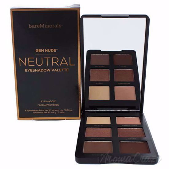 Picture of Gen Nude Eyeshadow Palette - Neutral by bareMinerals for Women - 0.18 oz Eye Shadow