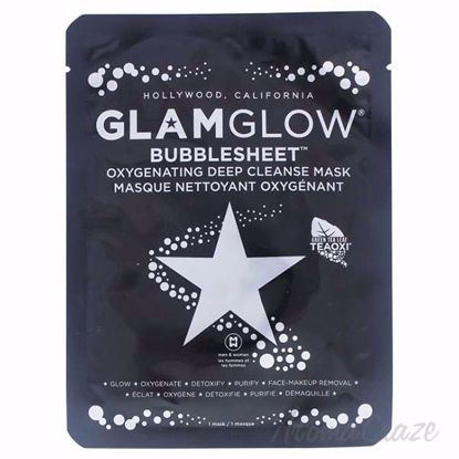 Bubblesheet Oxygenating Deep Cleanse Mask by Glamglow for Wo