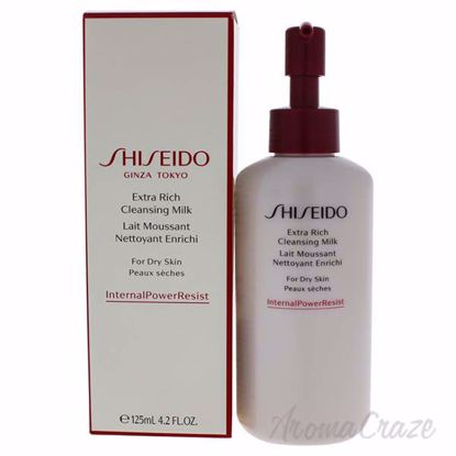Picture of Extra Rich Cleansing Milk by Shiseido for Women - 4.2 oz Cleanser