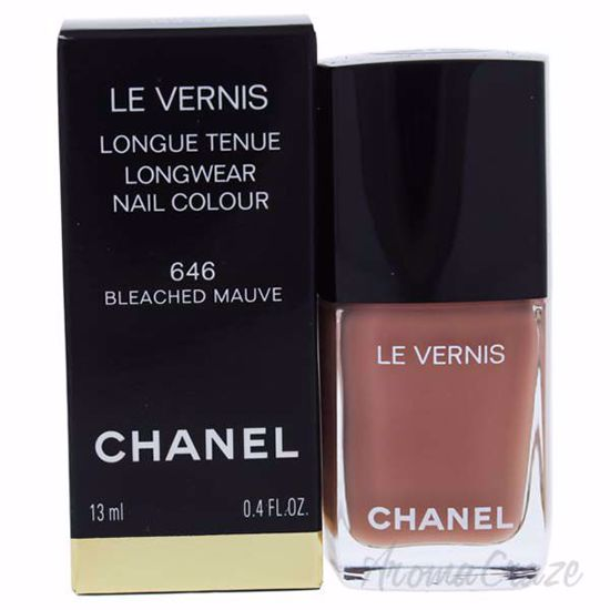 Picture of Le Vernis Longwear Nail Colour - 646 Bleached Mauve by Chanel for Women - 0.4 oz Nail Polish