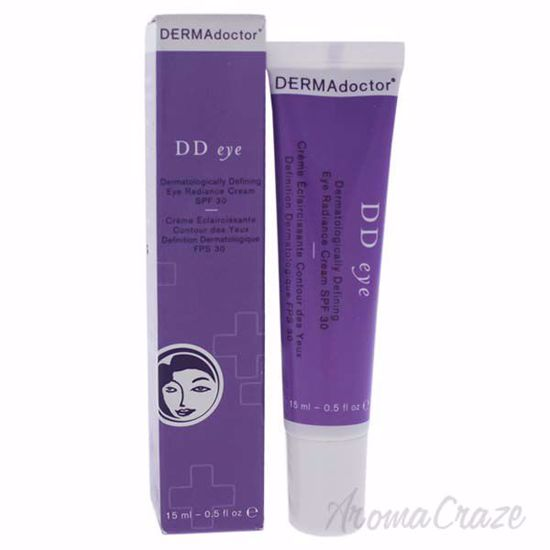 Picture of DD Eye Dermatologically Defining Radiance Cream SPF 30 by DERMAdoctor for Women - 0.5 oz Cream
